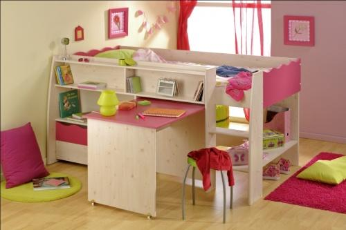 comment construire un lit mezzanine pour enfant les salons de l ameublement v ritable. Black Bedroom Furniture Sets. Home Design Ideas